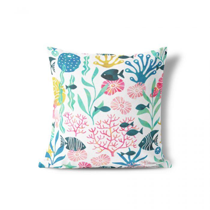 Sierkussen koraal HvdT Designs