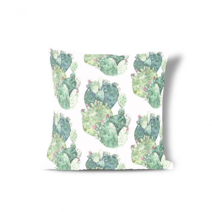 Sierkussen groene cactus Isabella