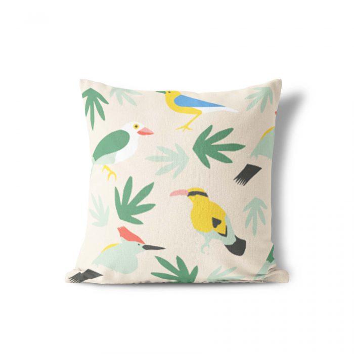 Sierkussen topus birds Studio Jelien