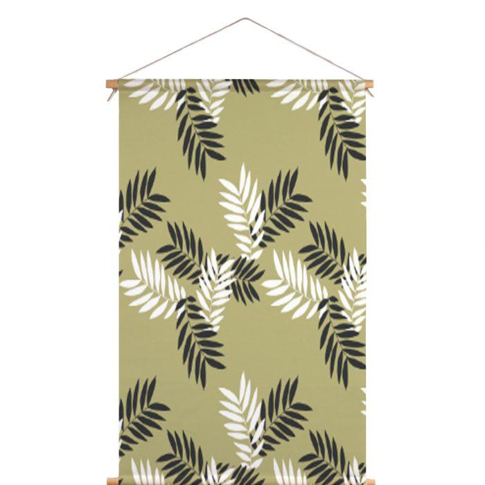 Textielposter bladeren Lotta Lorrier