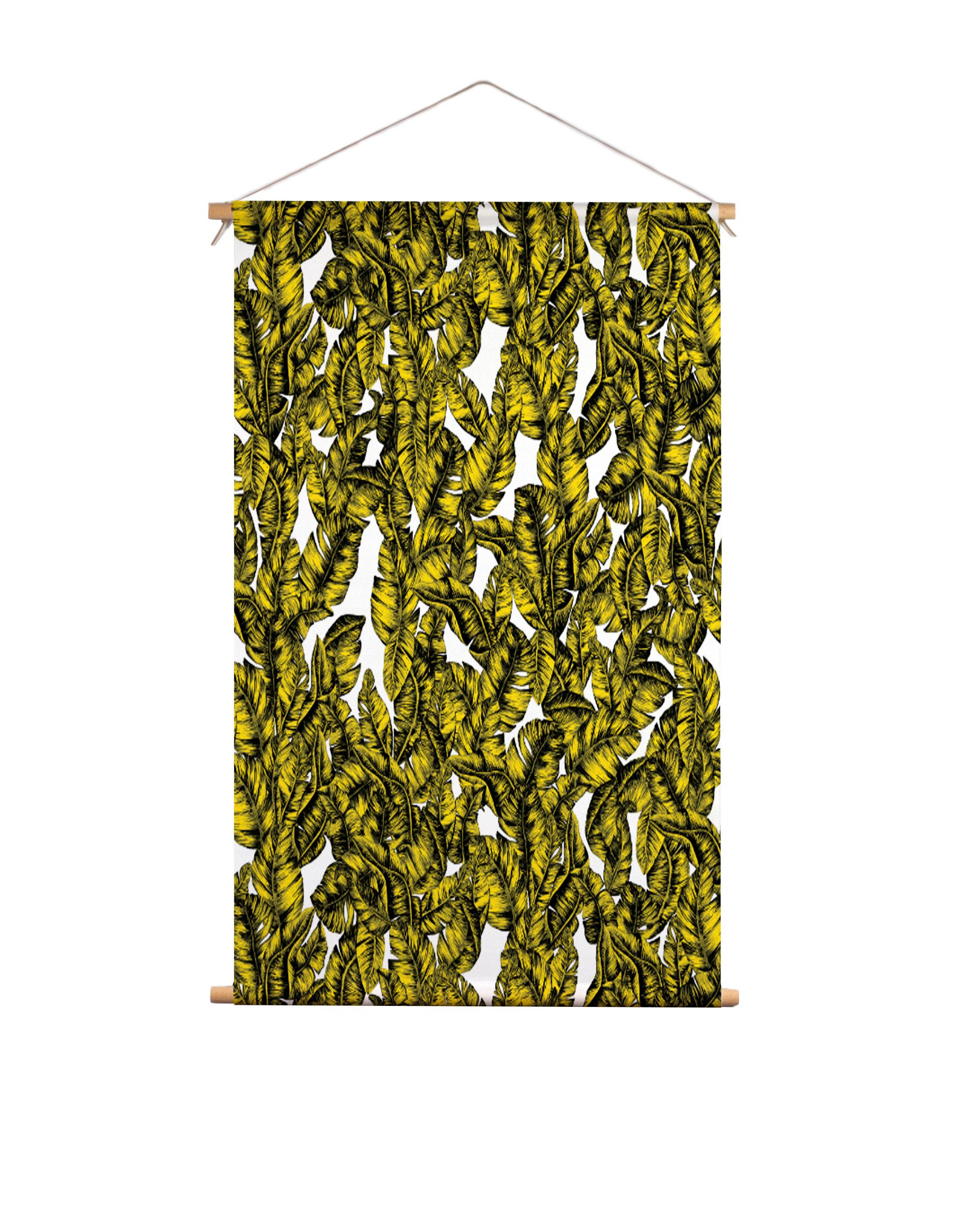 Textielposter-bladgoud-Veronique-de-Jong