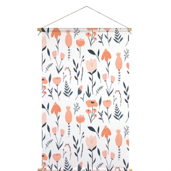 Textielposter bloemen Muchable