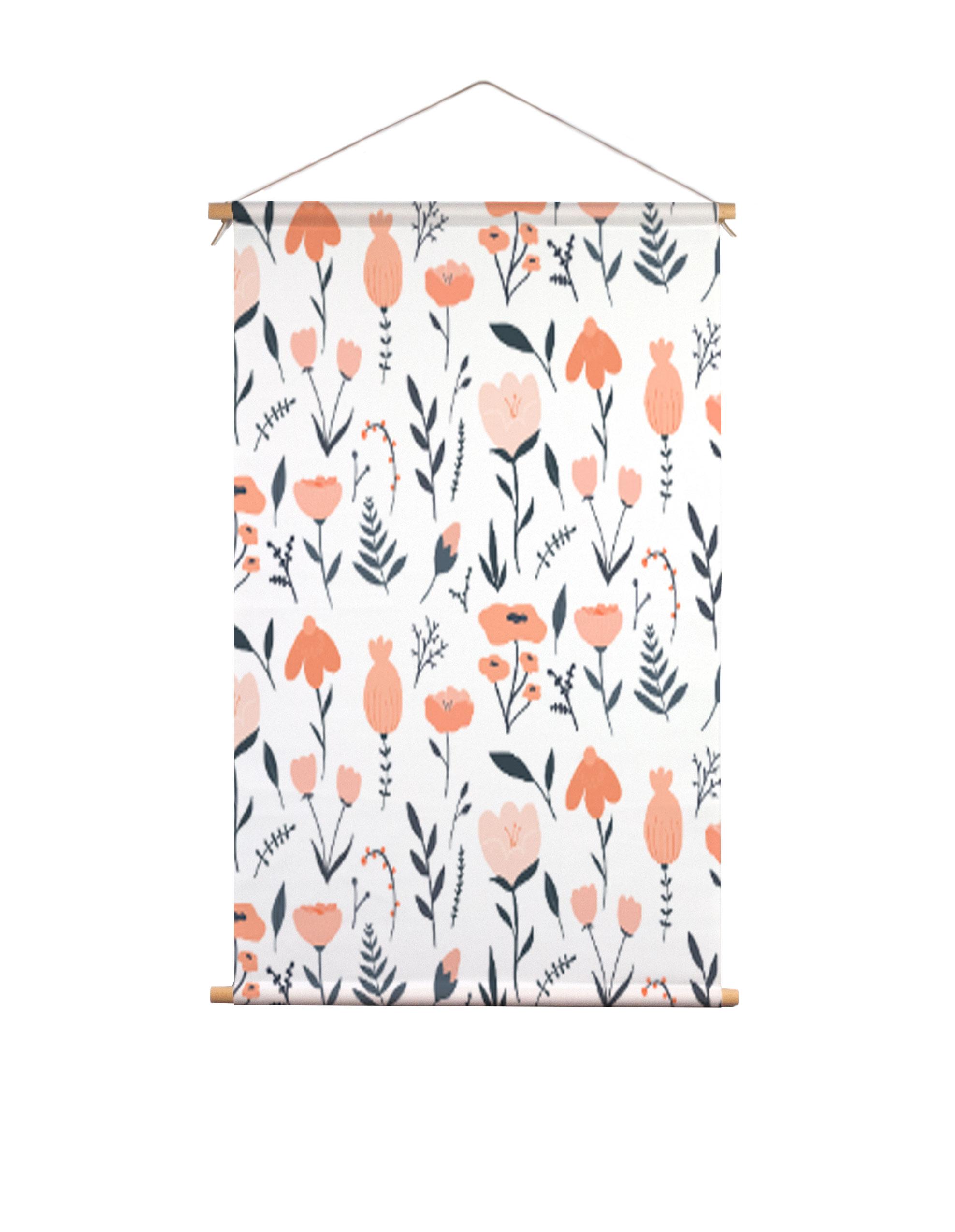 Textielposter-bloemen-Muchable