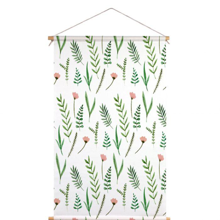 Textielposter bloemen en planten Muchable