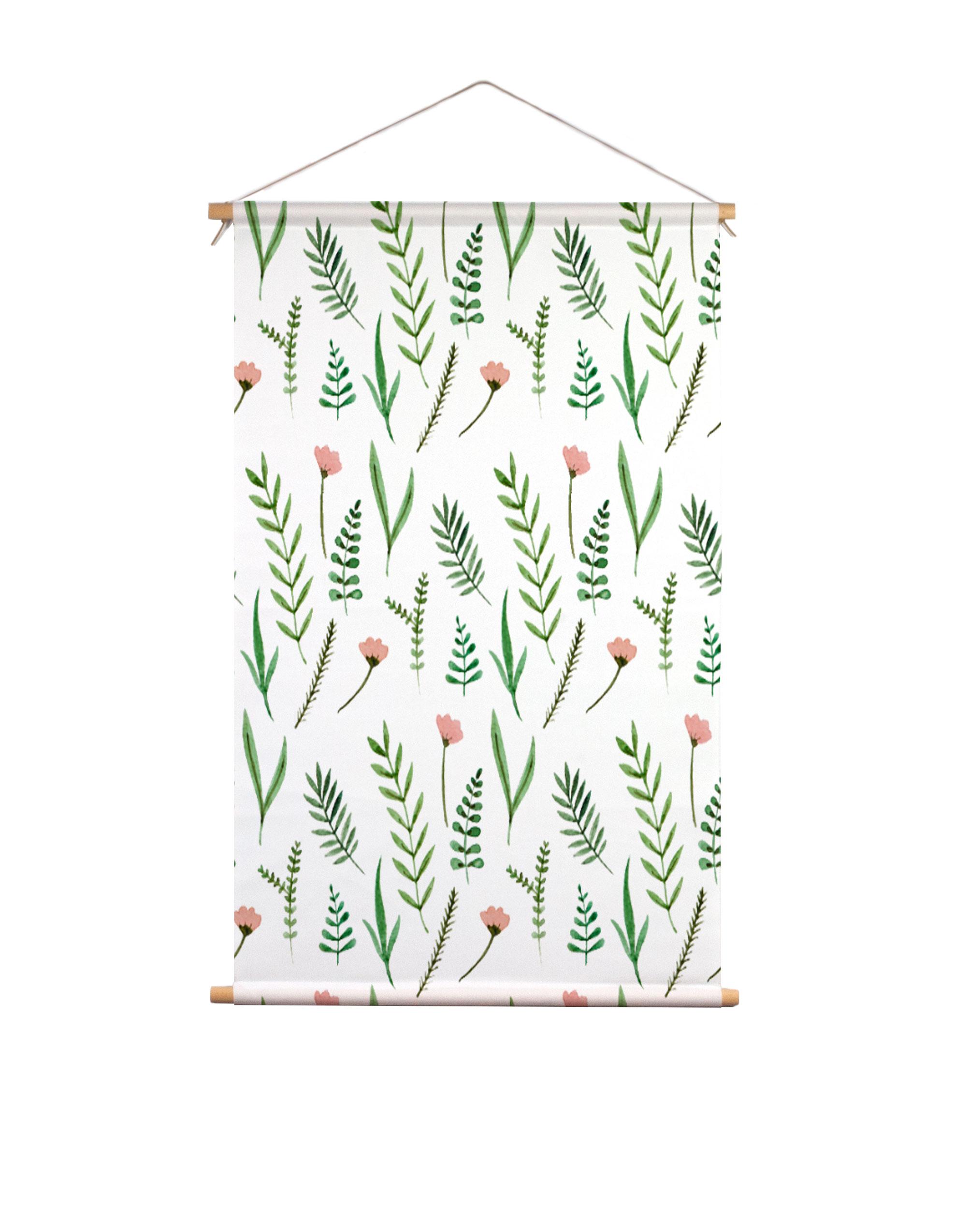 Textielposter-bloemen-en-planten-Muchable