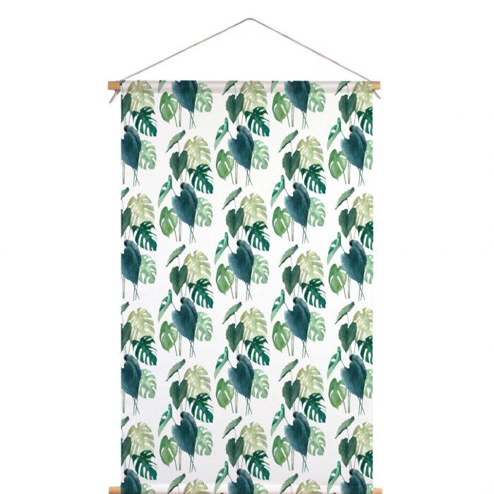 Textielposter botanisch Isabella