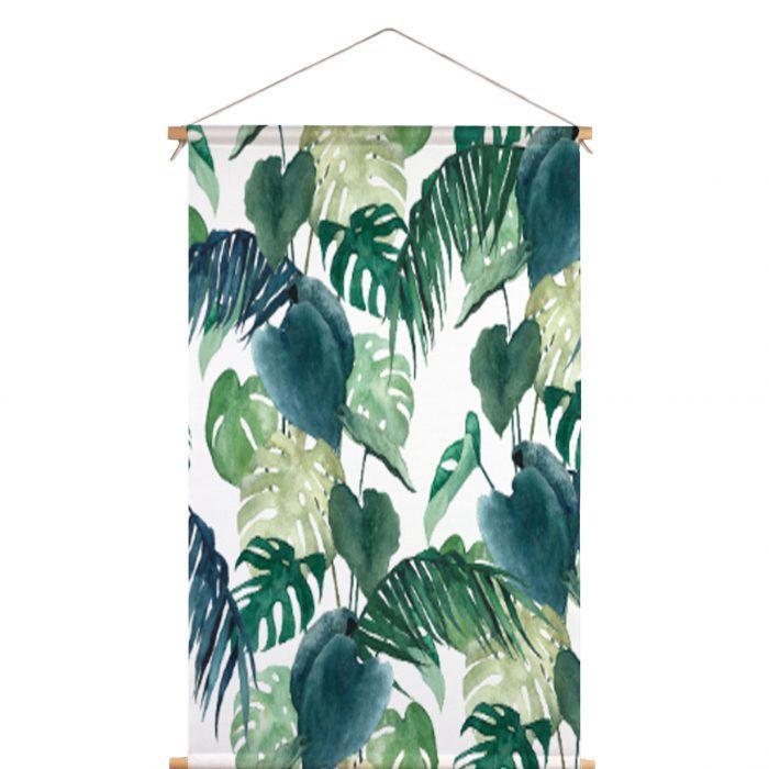 Textielposter botanische palm Isabella