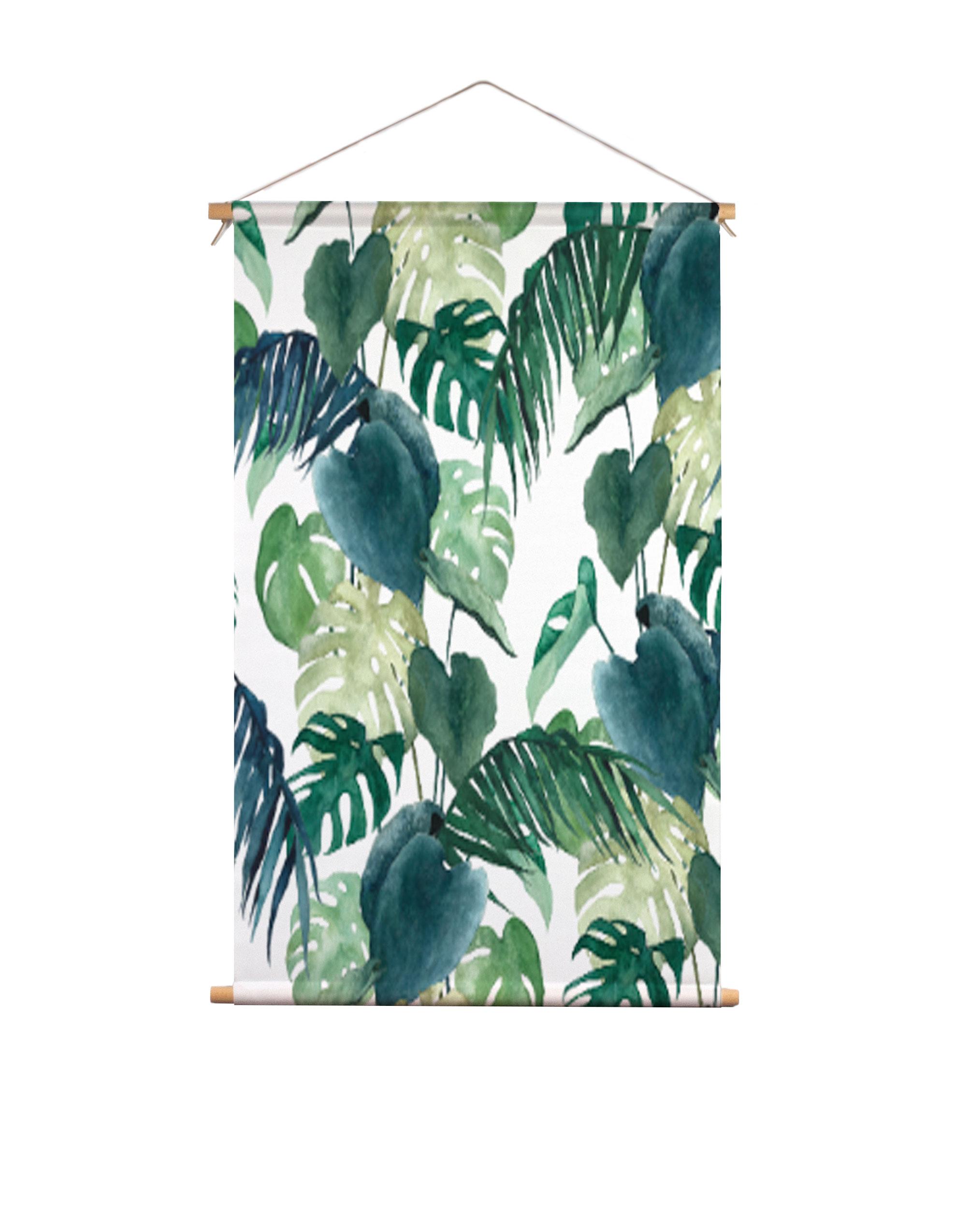 Textielposter-botanische-palm-Isabella