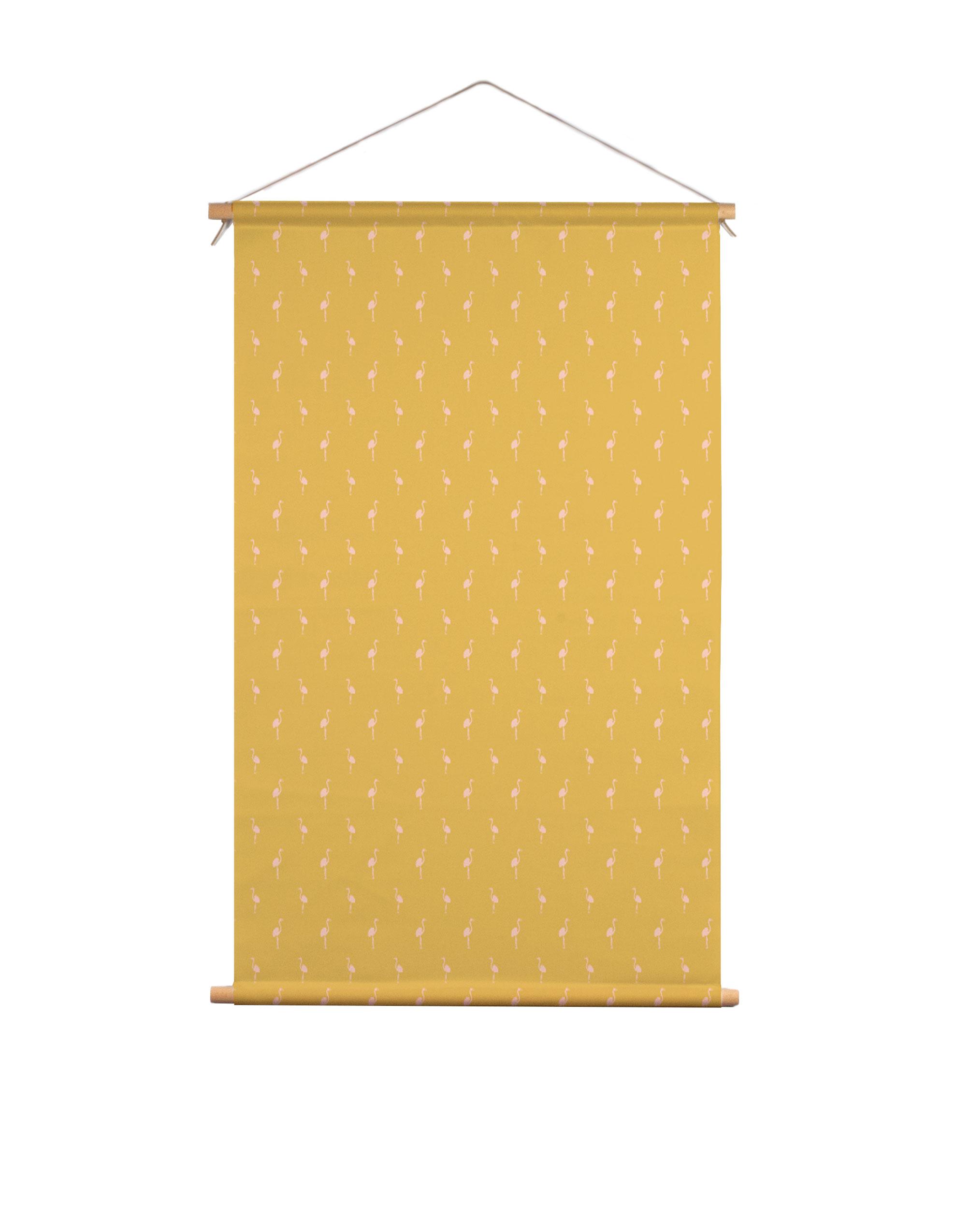 Textielposter-flamingo-Studio-Jelien