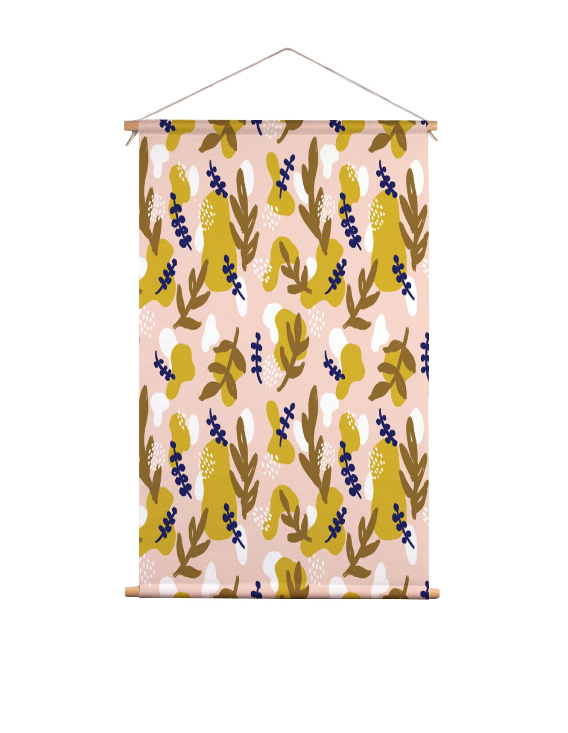 Textielposter-herfstbladeren-Muchable
