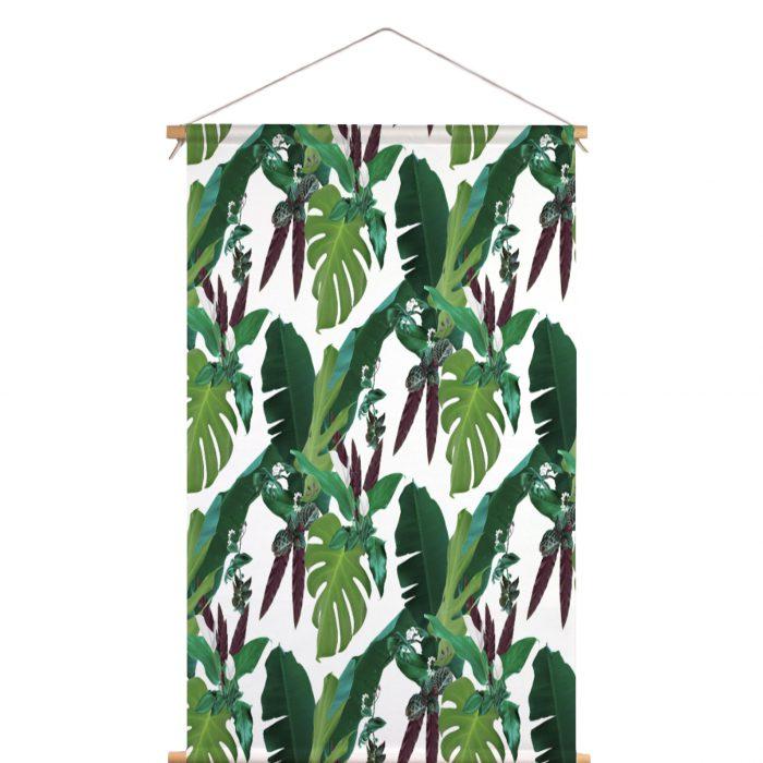 Textielposter jungle blad Louise