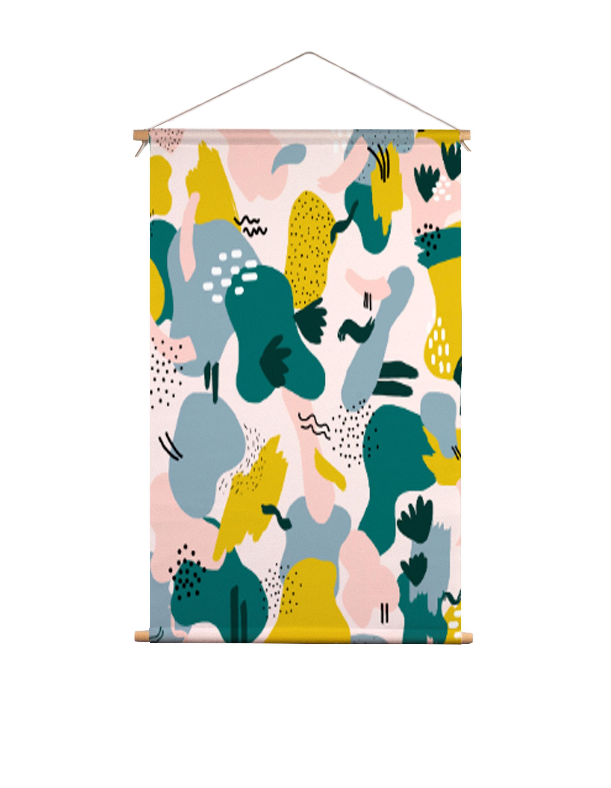 Textielposter-kleurrijk-abstract-Muchable