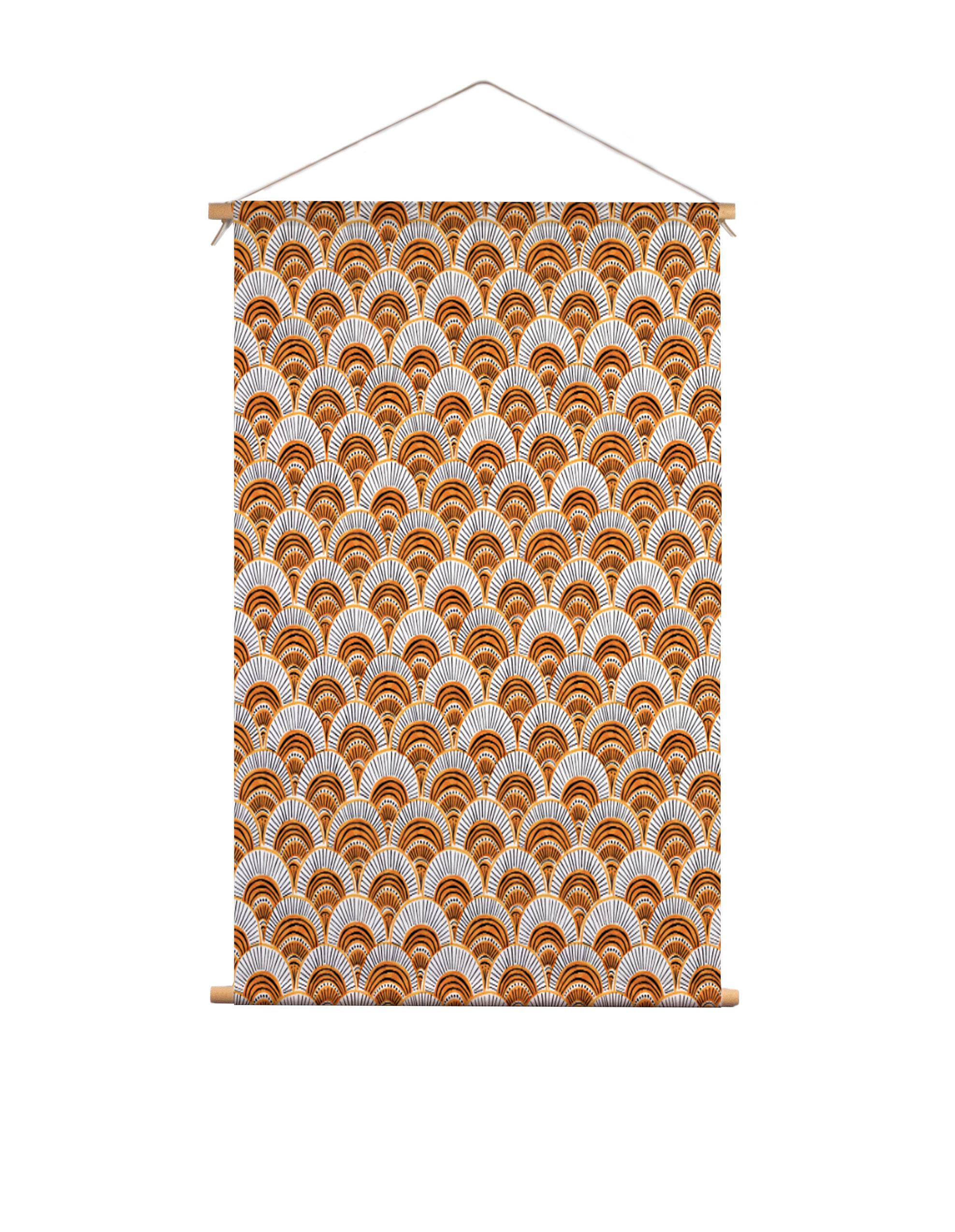 Textielposter-pauw-Veronique-de-Jong