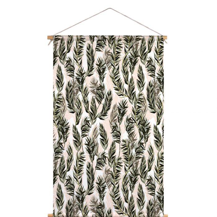Textielposter riet Veronique de Jong