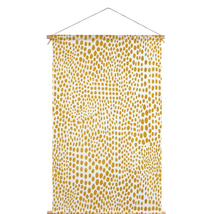 Textielposter stippen Dorrith Rem