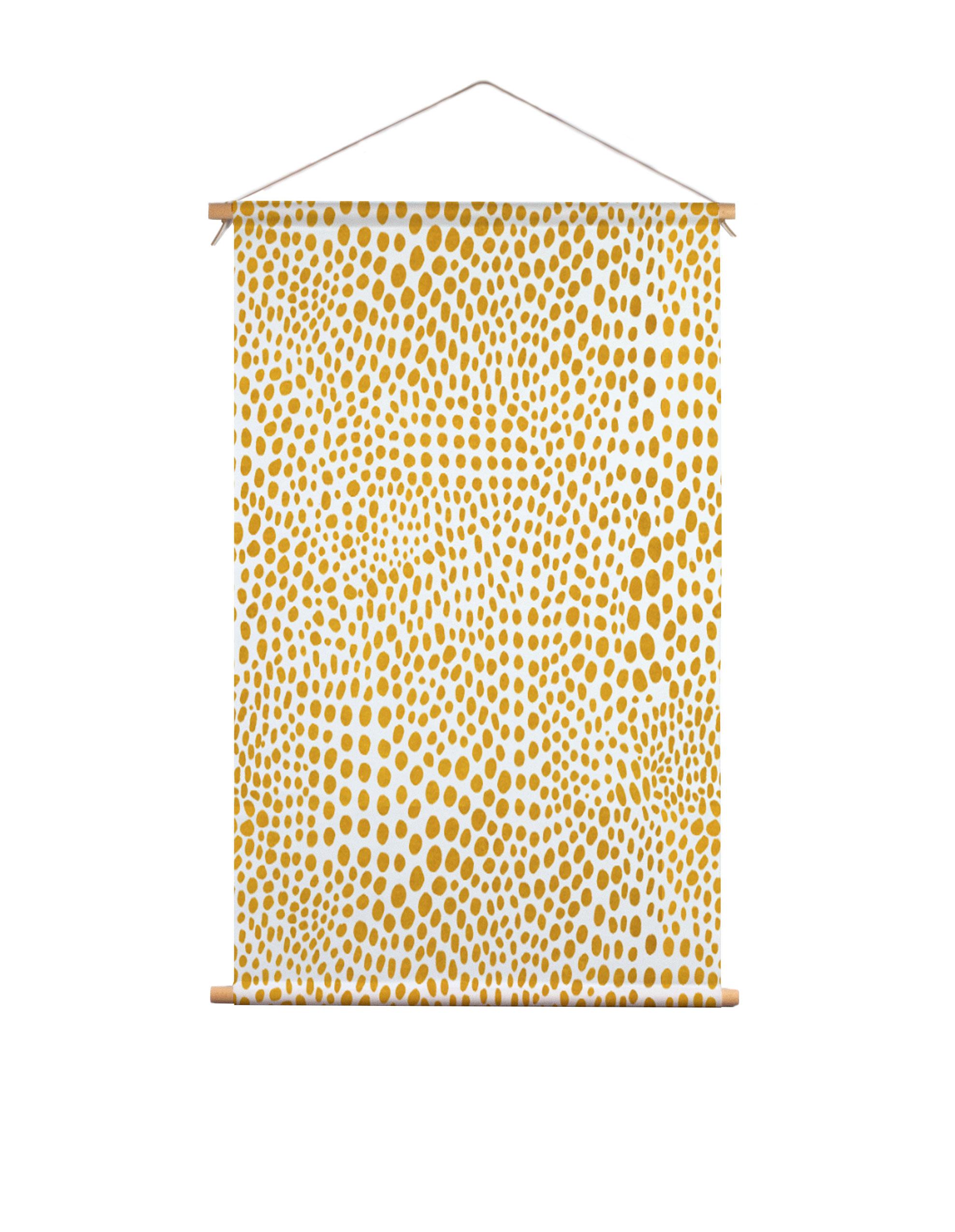 Textielposter-stippen-Dorrith-Rem