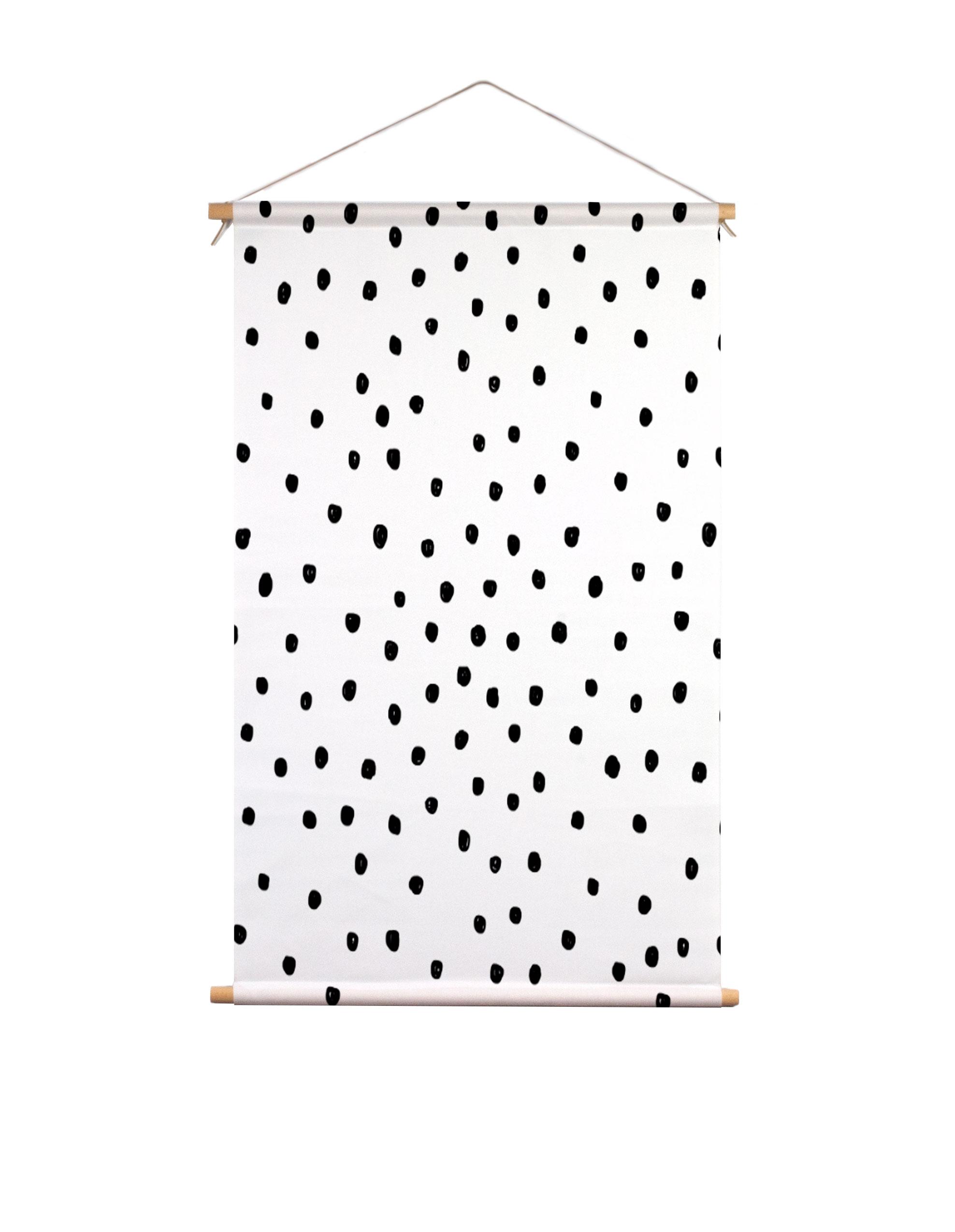 Textielposter-stippen-Piet-&-Kees