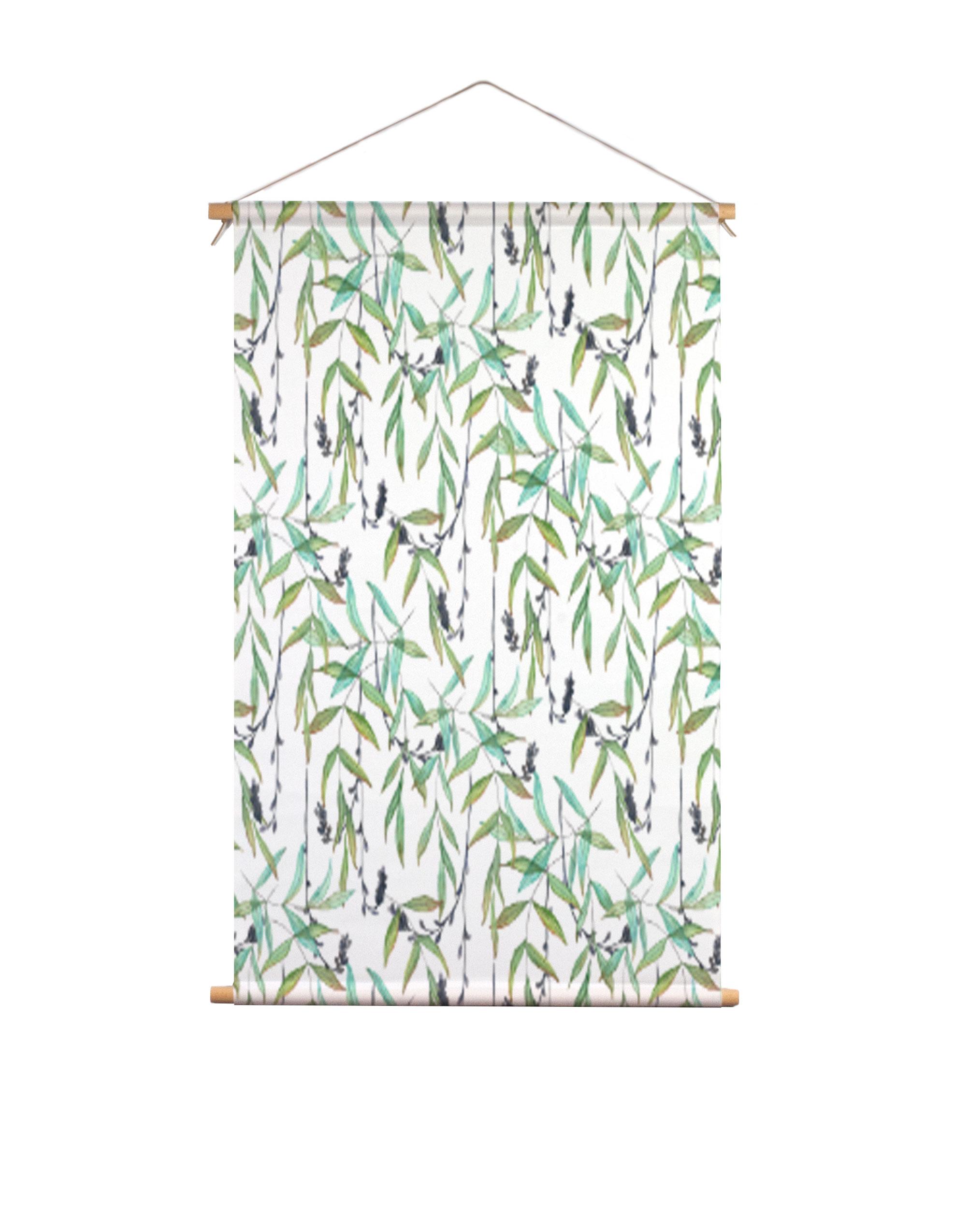 Textielposter-tropische-twijgen-Isabella