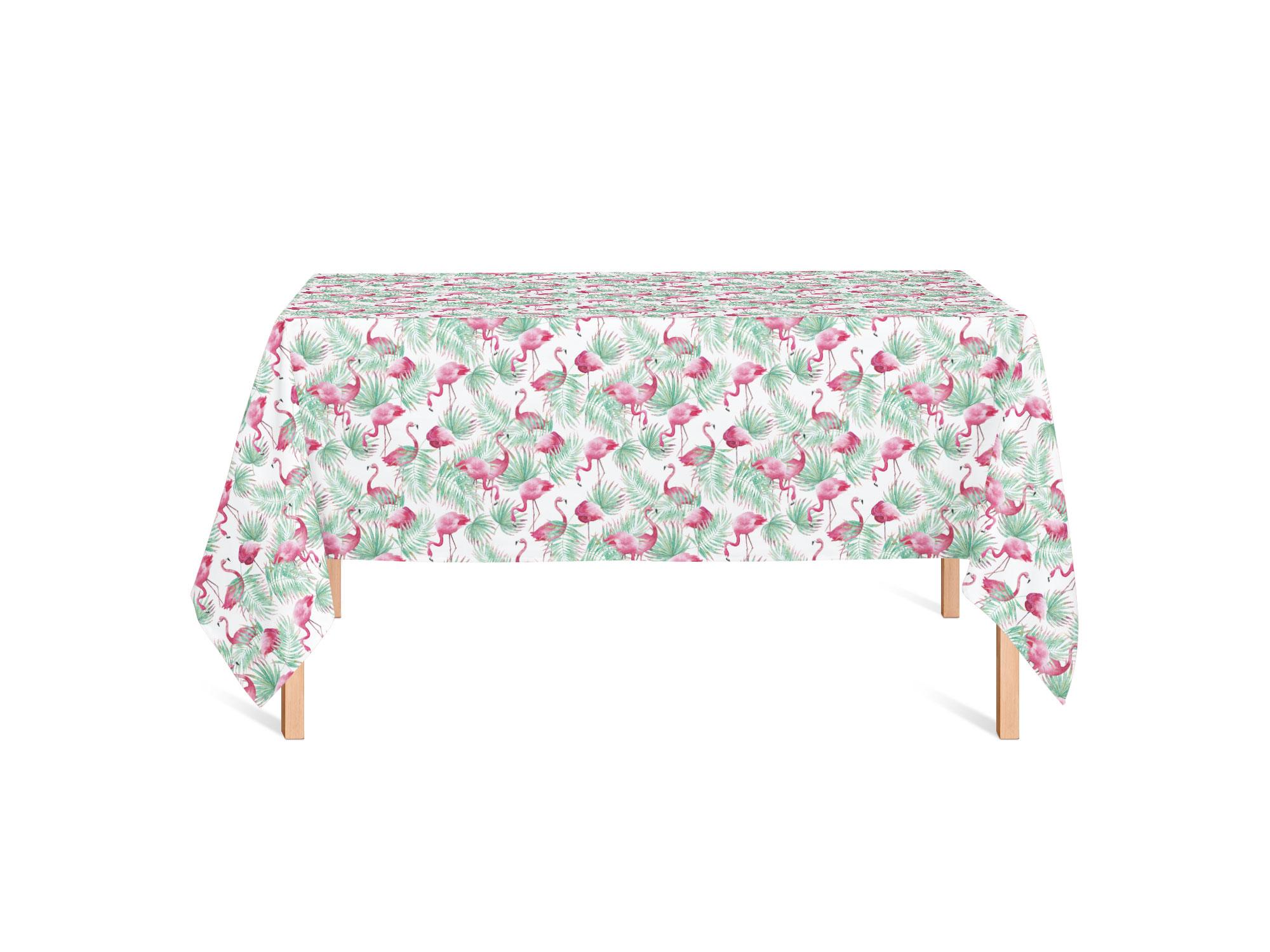 Isabella_FlamingoParadiseSmall_tafelkleed