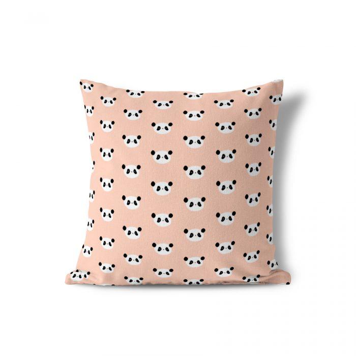 Sierkussen roze panda Piet & Kees