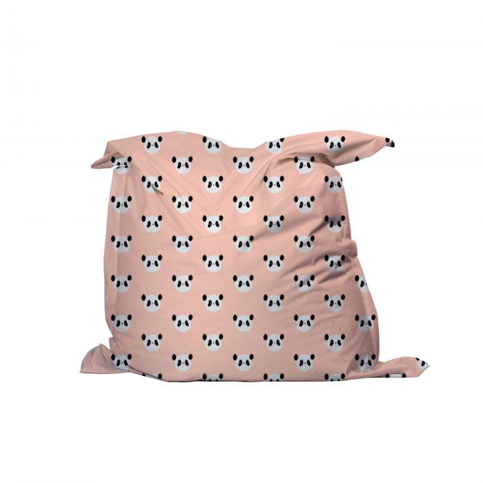 Zitzak roze panda Piet & Kees