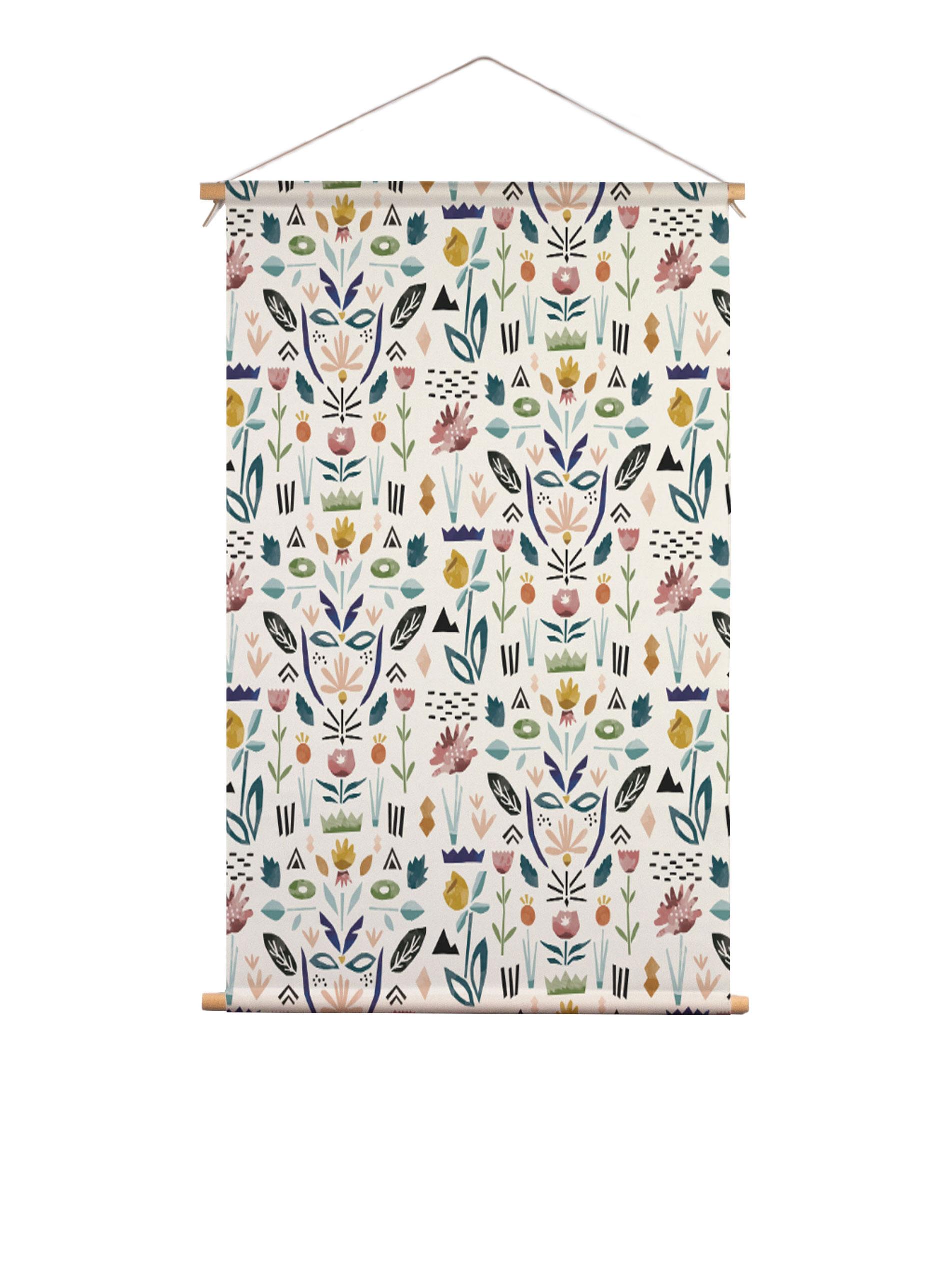 SylviaTakken_Floral_textielposter