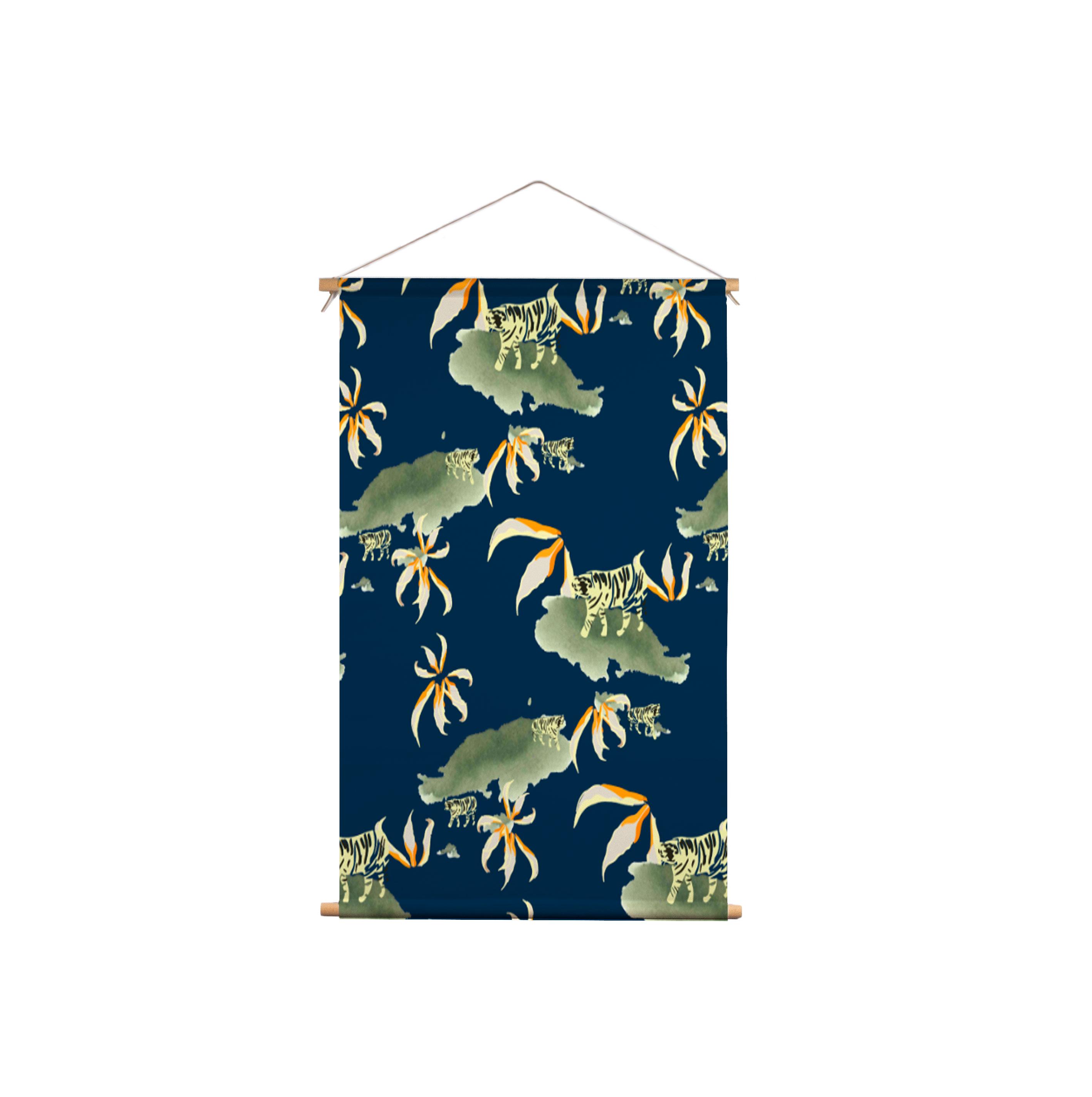We-Maqe-Exotische-Tijger_Textielposter