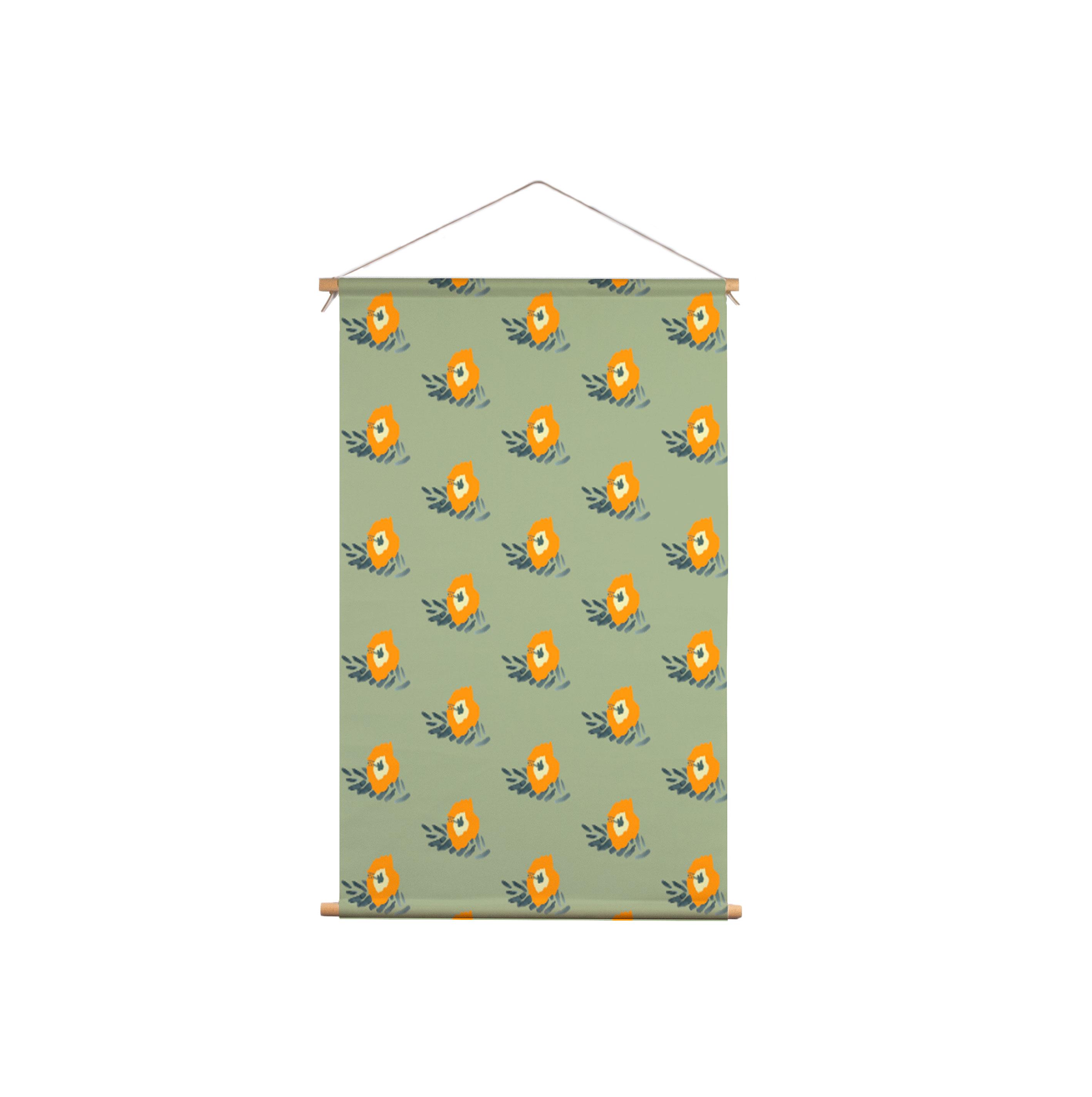 We-Maqe-Exotische-Tropical-Flowers_Textielposter
